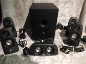 Logitech Z506 Surround Sound Home Theater Speaker System, External TV 5.1